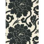 8230-10 FLORALS Black on Tint Quadrille Fabric
