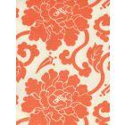 8230-07 FLORALS Orange on Tint Quadrille Fabric