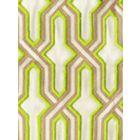 6300EM-22 GORRIVAN FRETWORK Asperge Taupe Custom Only Quadrille Fabric