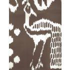 2430-37WP BALI II Brown On Almost White Quadrille Wallpaper