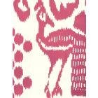 2435-46WP BALI ISLE Magenta On Off White Quadrille Wallpaper