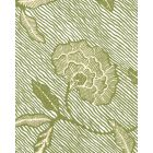 4060M-03WP FLORES II New Green Cream On White Quadrille Wallpaper