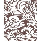 2335-52WP SAN MARCO REVERSE Brown On Almost White Quadrille Wallpaper