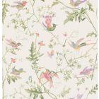 100/14067-CS HUMMINGBIRDS Soft Multi-Colour Cole & Son Wallpaper