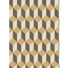 105/7030-CS DELANO Gold And Black Cole & Son Wallpaper