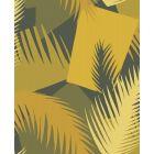 105/8035-CS DECO PALM Yellow Cole & Son Wallpaper