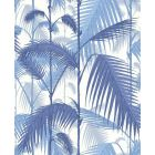 F111/2006-CS PALM JUNGLE China Blue Snow Cole & Son Fabric