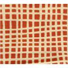 AC403-17 CRISS CROSS Shrimp on Tint Quadrille Fabric