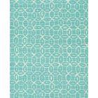 6455-33 MELONG BATIK REVERSE Turquoise on Tint Quadrille Fabric