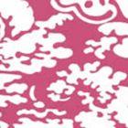 2335-36WP SAN MARCO REVERSE Magenta On White Quadrille Wallpaper