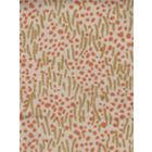 3030-05 TRILBY Camel II Shrimp Dots on Tan Quadrille Fabric