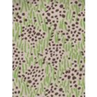 3030-07 TRILBY Jungle Brown Dots on Tan Quadrille Fabric