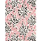 3030-12 TRILBY Pink Lines Brown Dots Quadrille Fabric