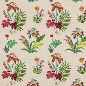 PF50466/1 BOTANICAL PARADISE Multi Baker Lifestyle Fabric