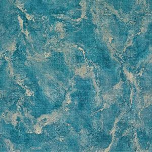 M5645 Unito Rumba Marble Texture Blue Brewster Wallpaper