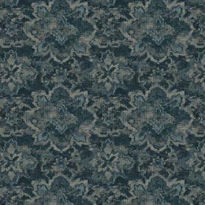 JAFAR Indigo Fabricut Fabric