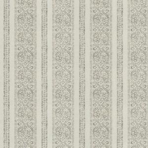 LA JOLLA STRIPE Pewter Fabricut Fabric
