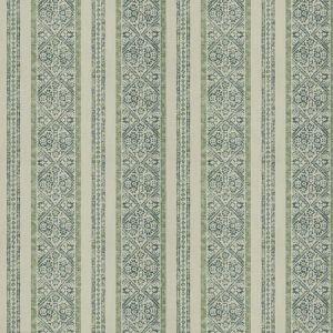 LA JOLLA STRIPE Seaglass Fabricut Fabric