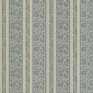 LA JOLLA STRIPE Indigo Fabricut Fabric