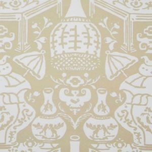 6801 11 The Vase Beige Clarence House Wallpaper