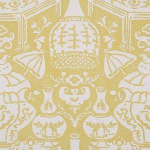 6801 14 The Vase Lemon Clarence House Wallpaper
