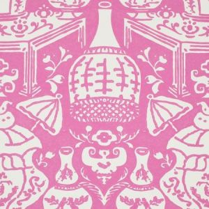 6801 21 The Vase Hot Pink Clarence House Wallpaper