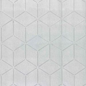 WP88370-002 GLACIER Silver Scalamandre Wallpaper