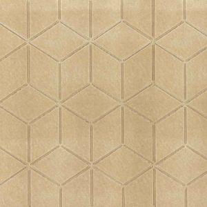 WP88370-003 GLACIER Burnished Gold Scalamandre Wallpaper