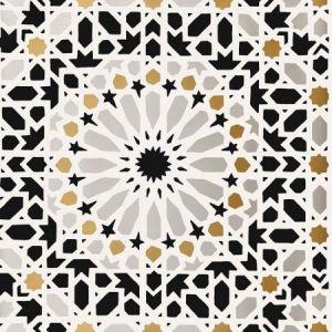 Schumacher Nasrid Palace Mosaic Mica Wallpaper