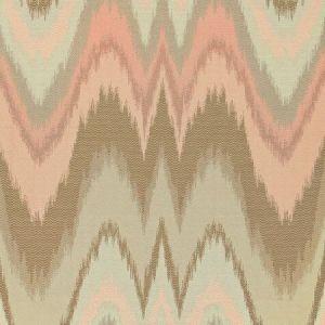 Schumacher Bargello Blush Conch Fabric