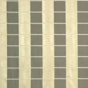 Beacon Hill Palette Plaid Silver Gold Fabric