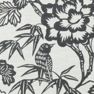 Duralee DE42608-79 IMARI CHARCOAL Fabric