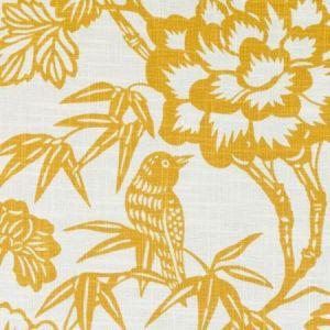 Duralee DE42608-6 IMARI GOLD Fabric