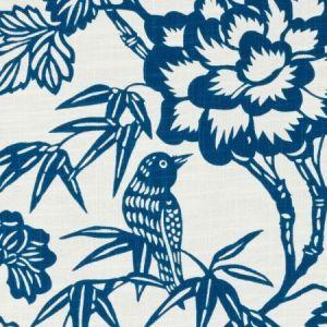 Duralee DE42608-5 IMARI BLUE Fabric