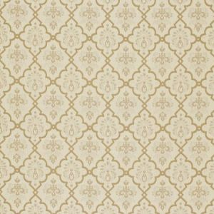 Schumacher Hedgerow Trellis Sand Fabric