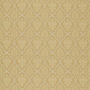 Schumacher Hedgerow Trellis Camel Fabric