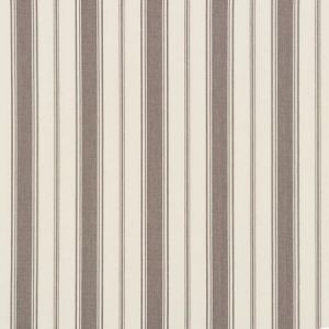 Schumacher Branca Stripe Grey Fabric