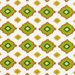 Schumacher Sikar Embroidery Citrus Fabric