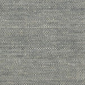 Schumacher Alhambra Weave Charcoal Ivory Fabric