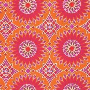 Schumacher Soleil L.A. Print Sunset Fabric