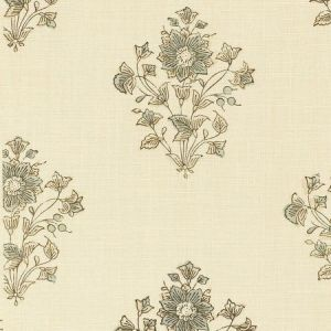 Schumacher Beatrice Bouquet Mineral Fabric