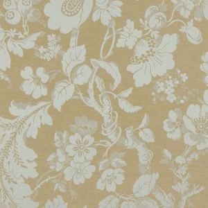 Schumacher Pont Royal Damask Moonstone Fabric