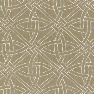 Schumacher Durance Embroidery Greige Fabric