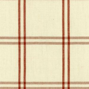 Schumacher Luberon Plaid Bittersweet Fabric