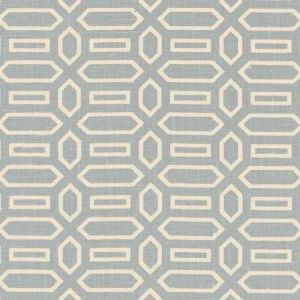 Schumacher Pavillion Orpington Blue Fabric