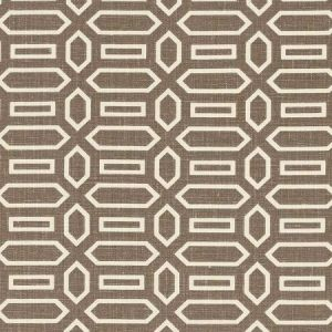 Schumacher Pavillion Berber Brown Fabric