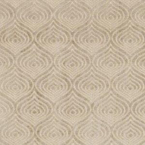 Schumacher Cloisonne Velvet Platinum Fabric