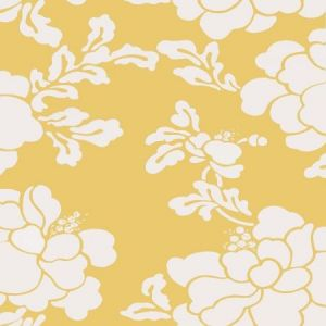 Stroheim Sister's Peony Maize Wallpaper