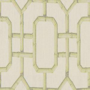Kravet Bambu Fret Celery Fabric