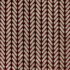 Groundworks Zebrano Beige Rust Fabric